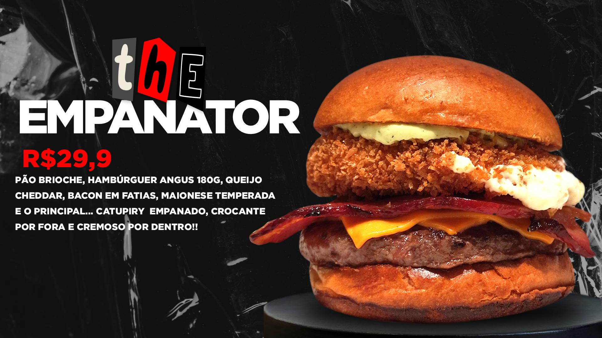 Banner fondue Burger